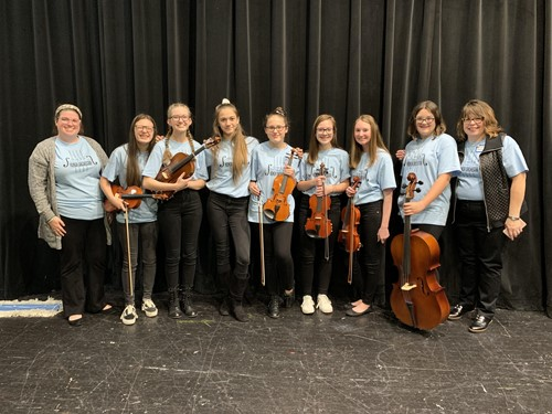 HCSD OMEA District 13 Honor Orchestra Members